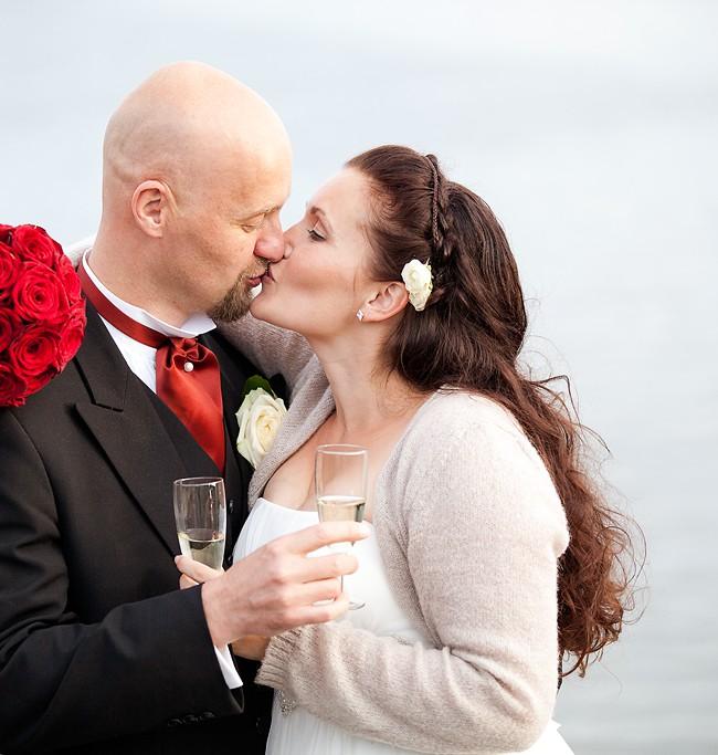 Kysser og Champagne