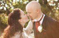 Evas og Harris bryllup