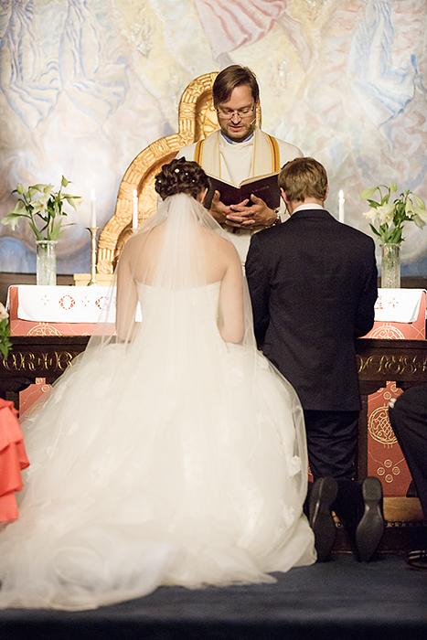 Forbønn for brudeparet