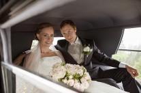 Bryllupsfotografering med Mie og Richard