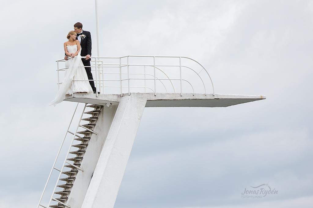 Bryllup på Ingierstrand bad