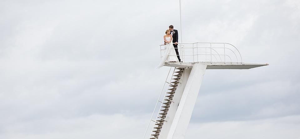 Ida og Martinius i tårnet
