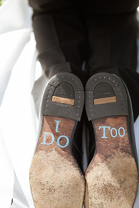 Brudgommens sko