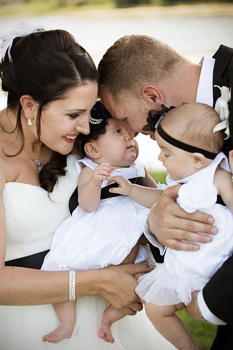 Brudeparet og tvillingene